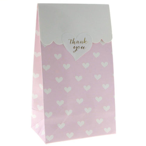 Pink Sweetheart Treat Bags (12 Pack)