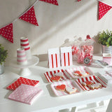 Red Polkadot Napkins (20 Pack)