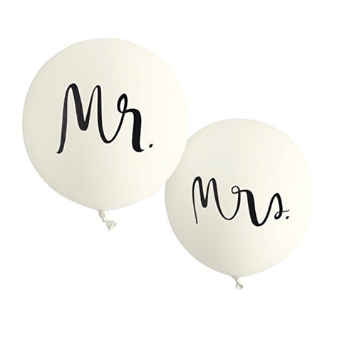 Mr & Mrs Party Balloons by Kate Spade NY