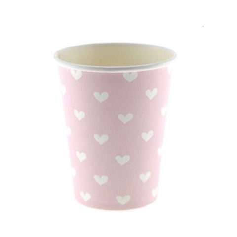 Pink Sweetheart Cups (12 Pack)