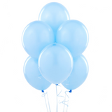 Pale Blue Party Balloons