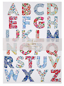 Liberty Alphabet Stickers