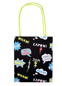 ZAP! Superhero Party Bags