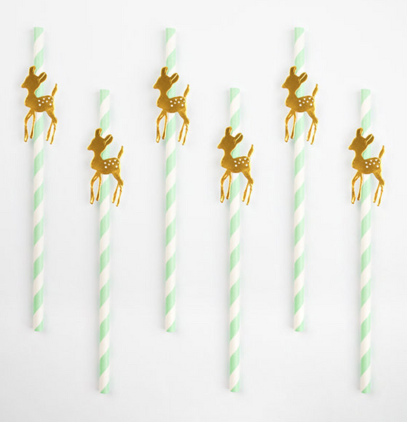 Golden Fawn Straws
