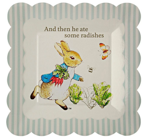 Peter Rabbit Plate Small