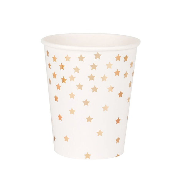 Gold Star Cups (8 Pack)
