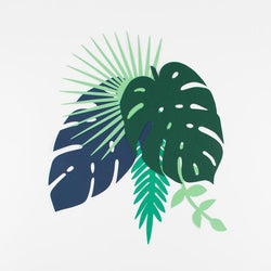 Tropical Leaf Decoration