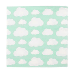 Mint Cloud Napkins (20 Pack)