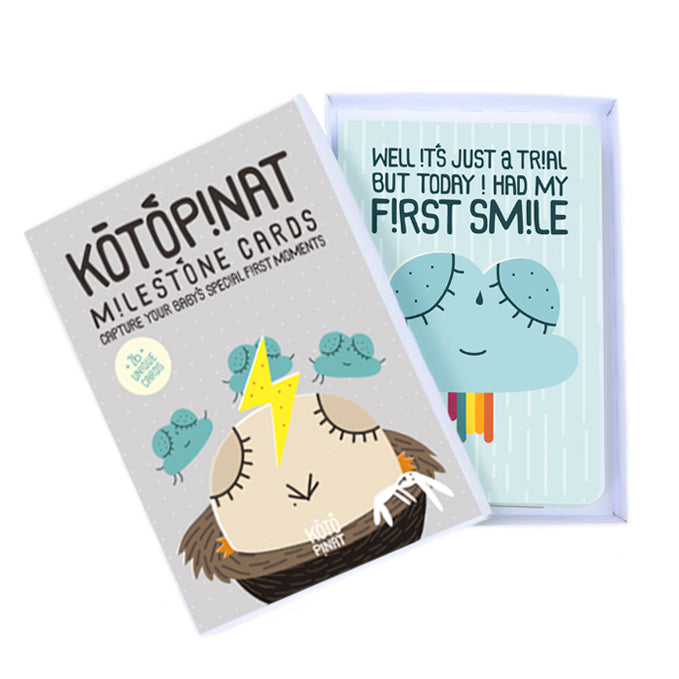 Milestone cards | Box of 26 - KotoPinat