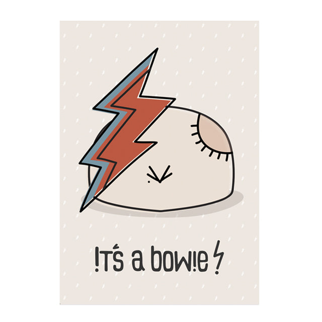 Wall art poster | It's a Bowie - KotoPinat