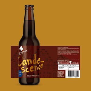 Candescence Belgian Quad single bottle 330ml