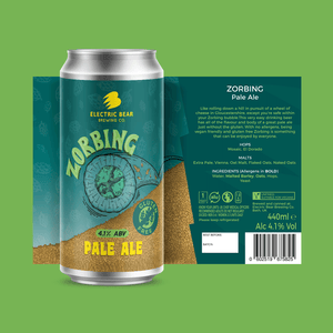 Zorbing case - 12 cans of our best selling gluten free pale ale