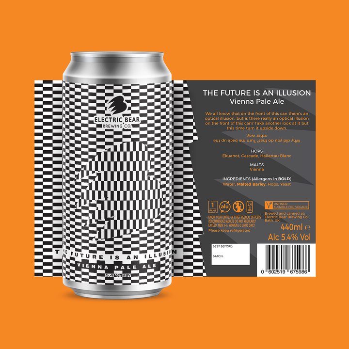the future is an illusion 440 ML CAN