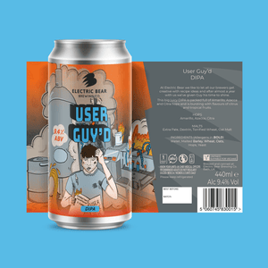 User Guy'd double IPA 9.4% single can