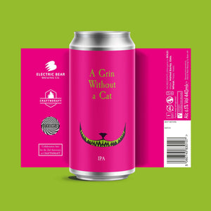 A Grin Without a Cat 6.5% IPA 440ml Can
