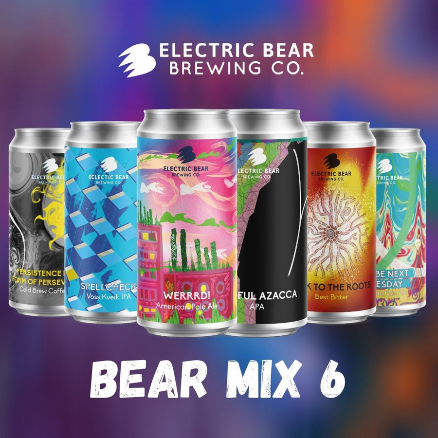 The Bear Mix 6 - Free Delivery on the Brewers Selection of 12 of Our Freshest Beers
