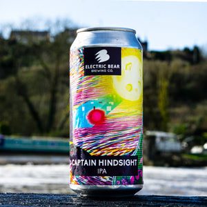 Captain Hindsight 6% Gluten Free IPA 440ml can Electric Bear Brewing