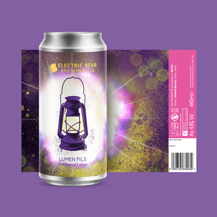 Lumen Pils Gluten Free Craft Lager single can
