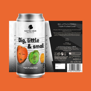 Big, Little & Small - 4.5% Triple Fruit Gose - 440ML CAN