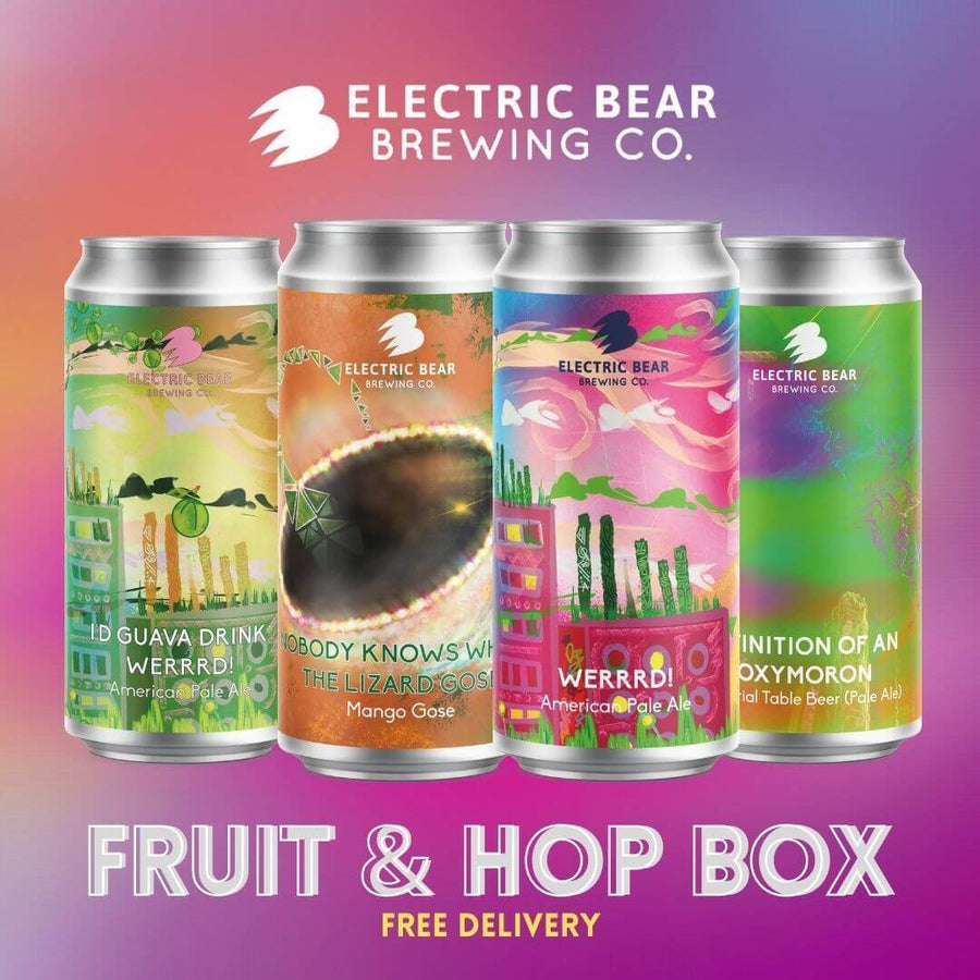 Fruit And Hop Box 3x 4 440ml cans of fruit and hop forward beers