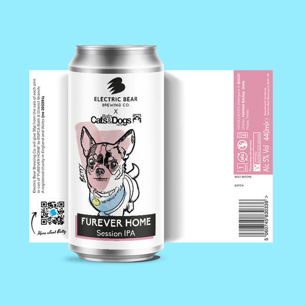Furever Home - 5% Session IPA - 6 Pack