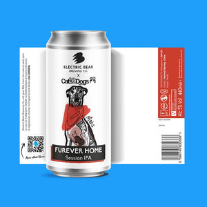 Furever Home - 5% - Session IPA - 440ML CAN