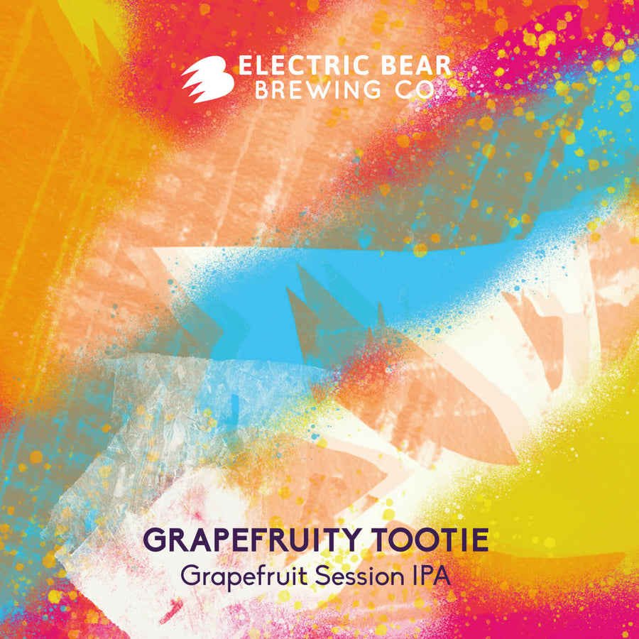 Grapefruity Tootie -Grapefruit session IPA - 5% - 440ML CAN