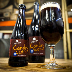 CANDESCENCE - BELGIAN STYLE QUAD - 13% - 750ML BOTTLE