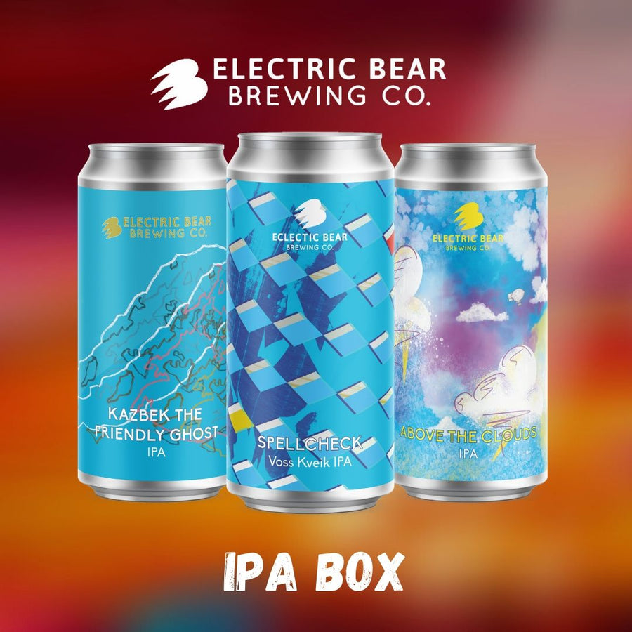 IPA Box - 12 Cans Of Our Latest IPAs - With Free Delivery