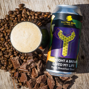 Last Night A Brewer Saved My Life 6% Maple Breakfast Stout 440ml can