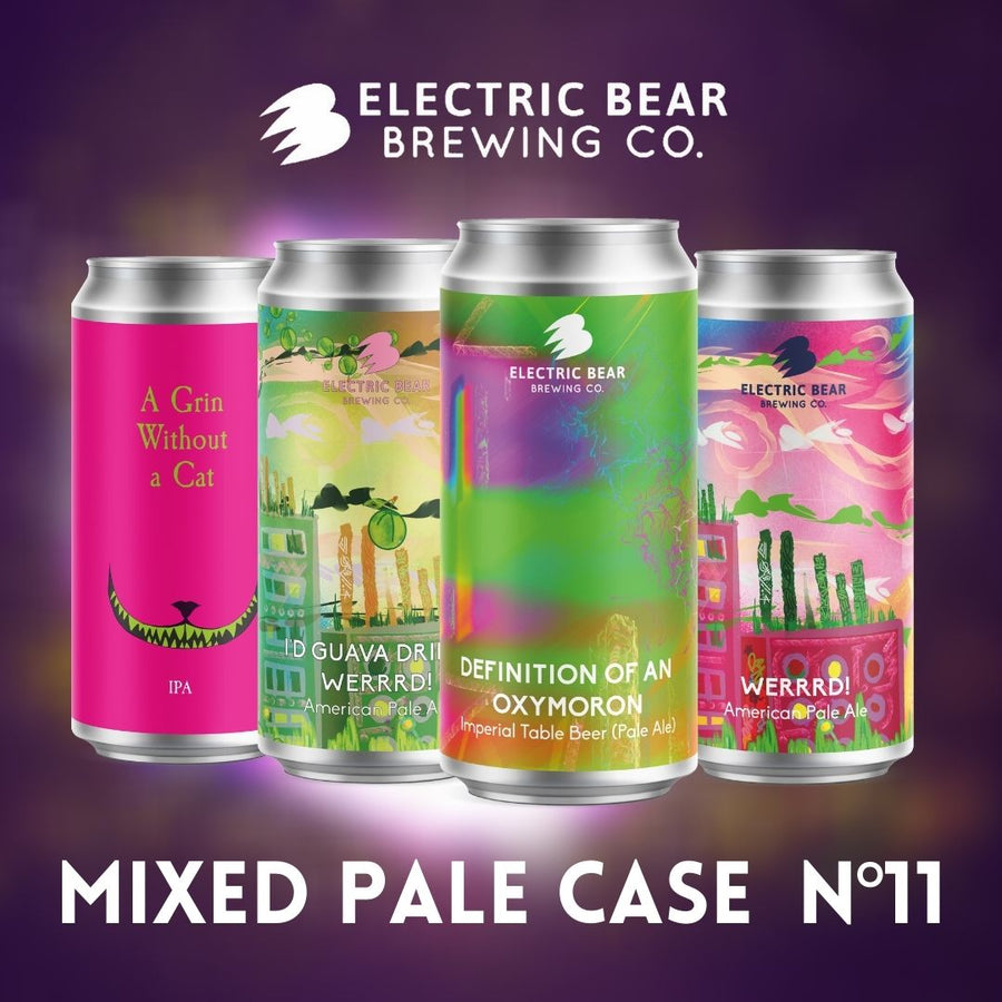 Mixed Pale Case No.11 - Free delivery on 12 Mixed Cans of Our Freshest Pale Ales