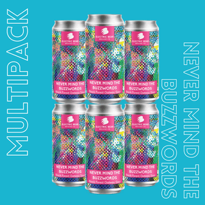 Never Mind The Buzzwords 5.5% Black forest gateaux sour multipack - Electric Bear Brewing Bath