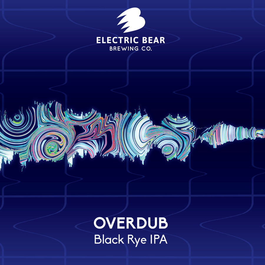 Overdub - 7.2% Black Rye IPA - 440ML CAN