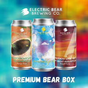 Premium Bear Box - 12 x 440ml Cans of Our Extra Special Releases