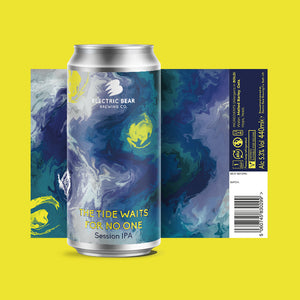 The Tide Waits For No One - 5.3% - Session IPA - 4 PACK