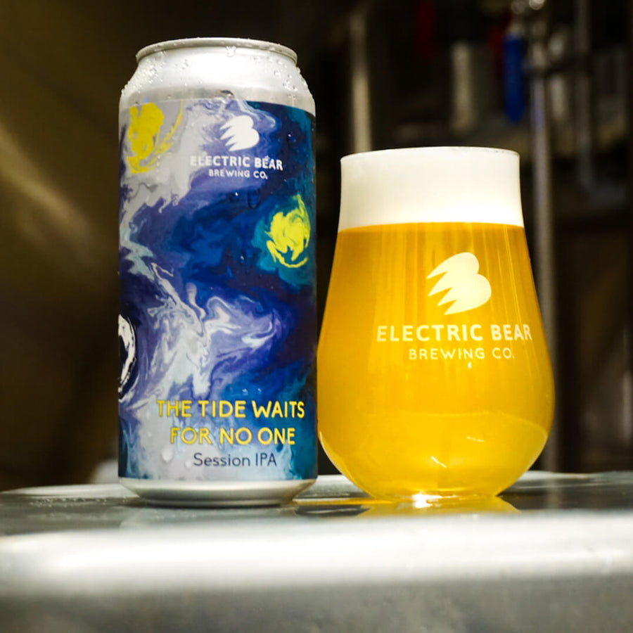The Tide Waits For No One- 5.3% - Session IPA - 440ML CAN