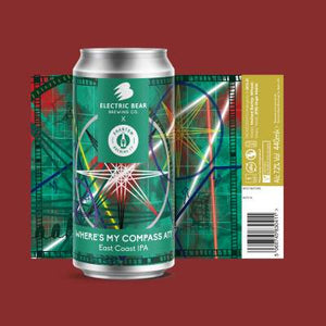 Where's My Compass At? 7.2% East Coast IPA 440ml can