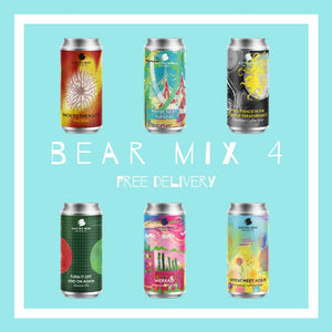 The Bear Mix 4 - Free delivery on the brewers selection of 12 of our freshest beers from pales to sours