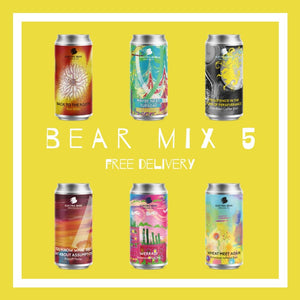 The Bear Mix 5 - Free Delivery on the Brewers Selection of 12 of Our Freshest Beers From Pales, Sours to Stouts