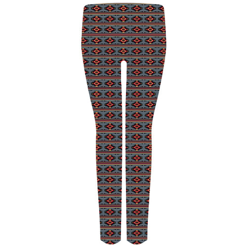 Simply Southern Leggings in Gray Aztec