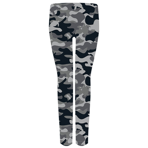 Simply Southern Leggings in Gray Camo