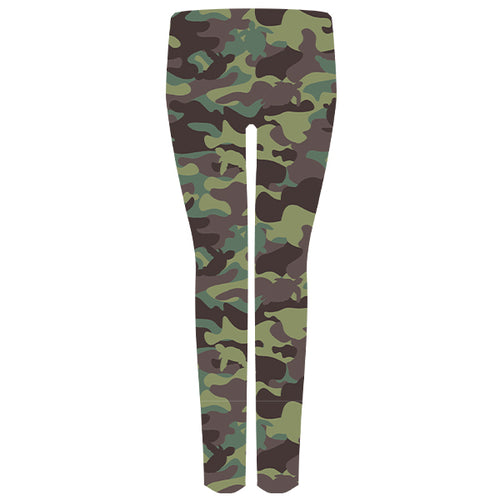 Simply Southern Leggings in Green Camo