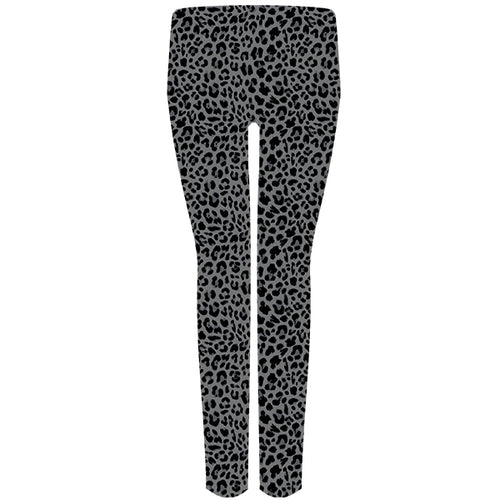 Simply Southern Leggings in Gray Leopard