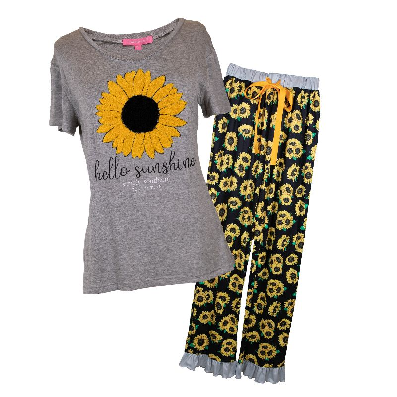 Simply Southern PJ's in Sunshine