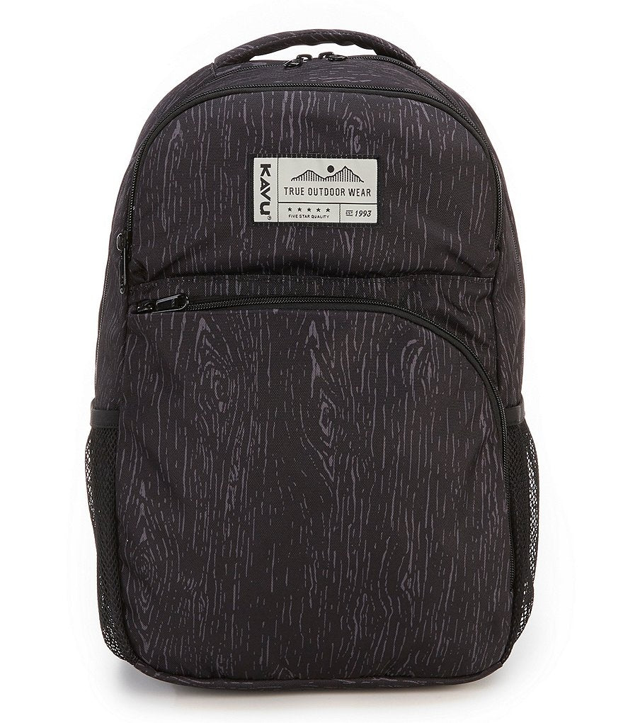 KAVU Packwood Backpack in Black Oak