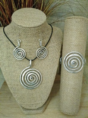 Spiral Circle Collection by The Artist Jay