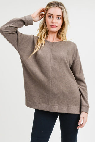 Paris Off Shoulder Top in Olive