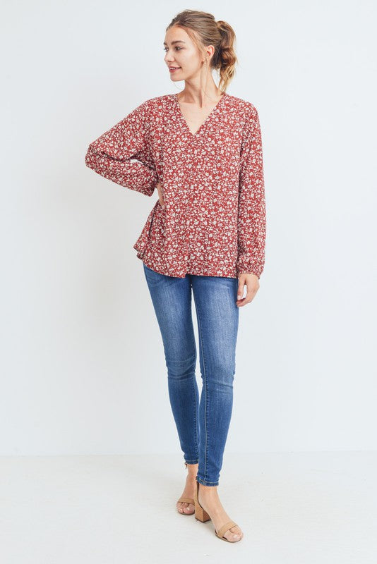 Darby Top in Brick