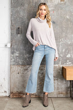 Tina Cowl Neck Top in Blush