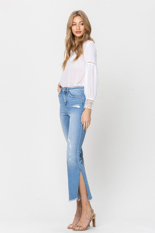 Anna Kick Flare Jeans by Flying Monkey